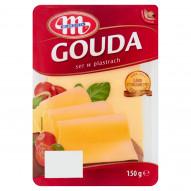 Mlekovita Ser Gouda w plastrach 150 g