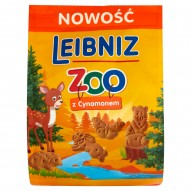 Leibniz ZOO Herbatniki z cynamonem 100 g