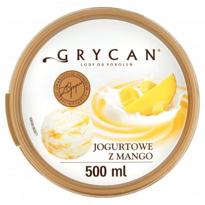 Grycan Lody jogurtowe z mango 500 ml