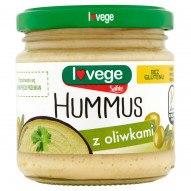 Sante Hummus z oliwkami 180 g