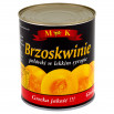 MK Brzoskwinie połówki w lekkim syropie 820 g