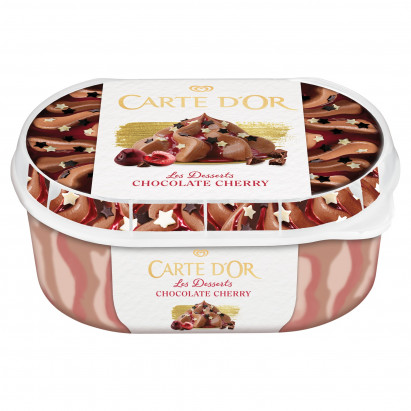 Carte D'Or Les Desserts Chocolate Cherry Lody 900 ml