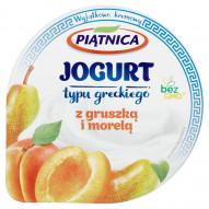 Piątnica Jogurt typu greckiego z gruszką i morelą 150 g