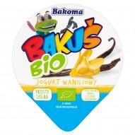 Bakoma Bakuś BIO Jogurt waniliowy 100 g