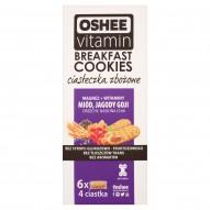 Oshee Vitamin Miód jagody Goji orzechy nasiona chia Ciasteczka zbożowe 300 g (6 x 50 g)