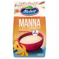Melvit Błyskawiczna kasza manna o smaku waniliowym 400 g