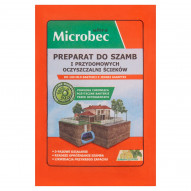 Microbec ultra Preparat do szamb i przydomowych oczyszczalni ścieków 25 g