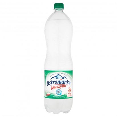 Ustronianka Muszyna Naturalna woda mineralna wysokomineralizowana 1,5 l