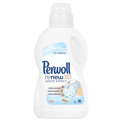 Perwoll ReNew 3D White Effect Detergent do prania tkanin białych 1 l (16 prań)