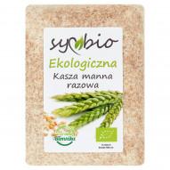 Symbio Kasza manna razowa ekologiczna 400 g