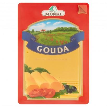 MSM Mońki Gouda ser typu holenderskiego plastry 150 g