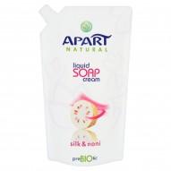 Apart Natural Prebiotic Kremowe mydło w płynie jedwab i noni Zapas 400 ml