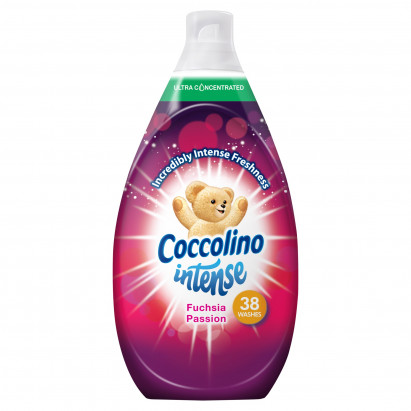 Coccolino Intense Fuchsia Passion Płyn do płukania tkanin 570 ml (38 prań)