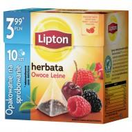 Lipton Owoce Leśne Herbata czarna 17 g (10 torebek)