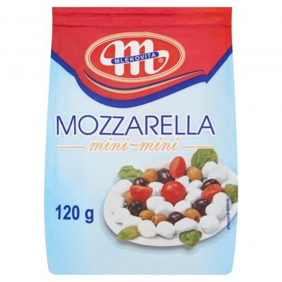 Mlekovita Ser mozzarella mini-mini 120 g