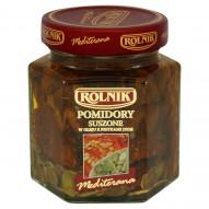 Rolnik Mediterana Pomidory suszone w oleju z pestkami dyni 280 g