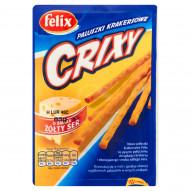 Felix Crixy Paluszki krakersowe o smaku żółty ser 85 g