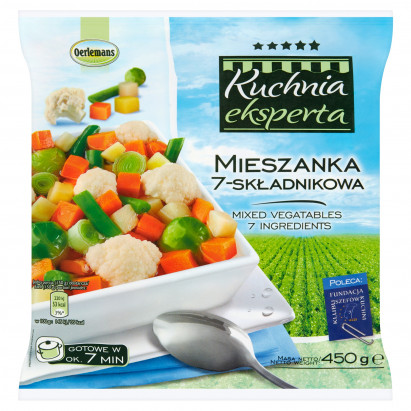 Oerlemans Kuchnia eksperta Mieszanka 7-składnikowa 450 g