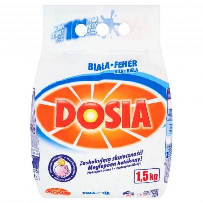 Dosia Biała Proszek do prania tkanin białych 1,5 kg