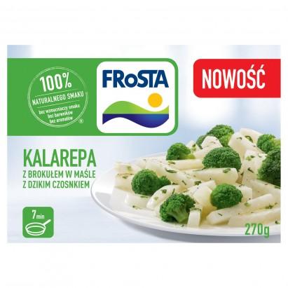 FRoSTA Kalarepa z brokułem w maśle z dzikim czosnkiem 270 g