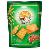 Sunbites Wielozbożowe krakersy pomidor z bazylią 100 g