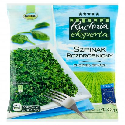 Oerlemans Kuchnia eksperta Szpinak rozdrobniony 450 g