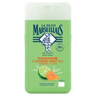 Le Petit Marseillais Żel pod prysznic mandarynka i bio limonka 250 ml