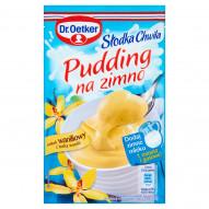 Dr. Oetker Słodka Chwila Pudding na zimno smak waniliowy z laską wanilii 35 g
