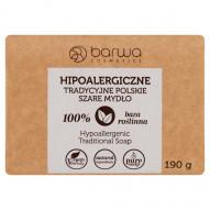 Barwa Hipoalergiczne tradycyjne polskie szare mydło 190 g