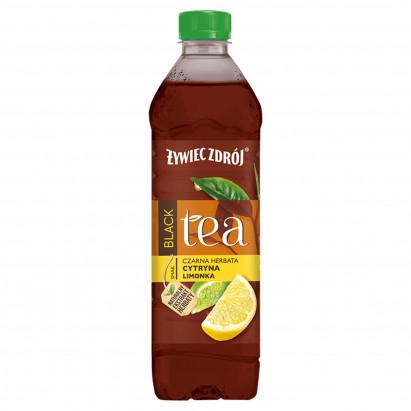 Żywiec Zdrój Black Tea Napój niegazowany czarna herbata cytryna limonka 500 ml