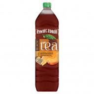 Żywiec Zdrój Black Tea Napój niegazowany czarna herbata brzoskwinia pomarańcza 1,5 l