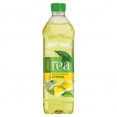 Żywiec Zdrój Green Tea Napój niegazowany zielona herbata cytryna 500 ml