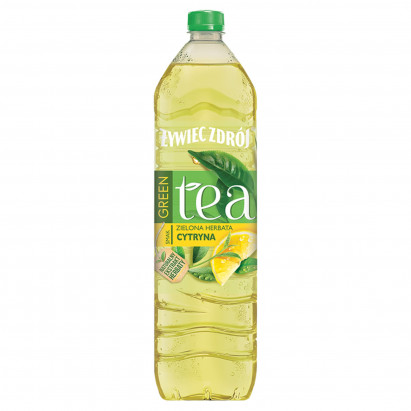 Żywiec Zdrój Green Tea Napój niegazowany zielona herbata cytryna 1,5 l