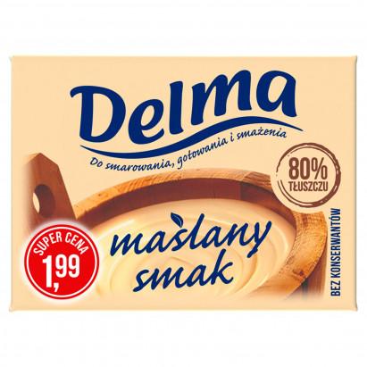 Delma Margaryna o maślanym smaku 250 g