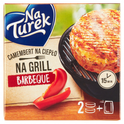 NaTurek Camembert na grill barbeque 205 g