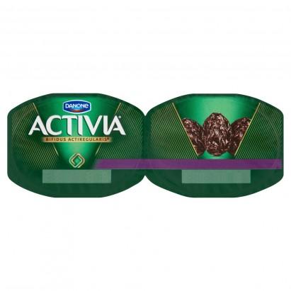 Danone Activia Suszona śliwka Jogurt 240 g (2 sztuki)
