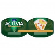 Danone Activia Brzoskwinia-musli Jogurt 240 g (2 sztuki)