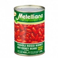 FASOLA CZERWOANA RED KIDNEY 400G METELLIANA