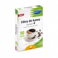 FILTRY DO KAWY NR 4 50SZT STELLA