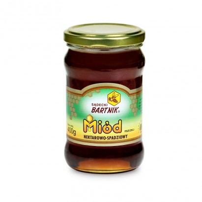 Bartnik miód nektarowo-spadziowy 400 g
