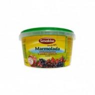 Smakko Marmolada wieloowocowa o smaku różanym twarda 550g