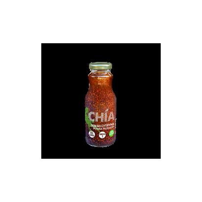 Chia jabłko-cytryna - płynna przekąska 250 ml